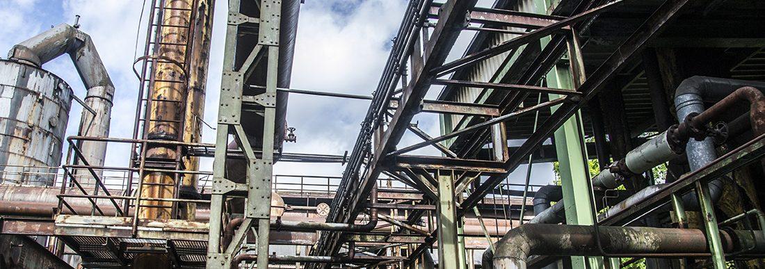 Trip naar een verlaten fabriek in Duisburg